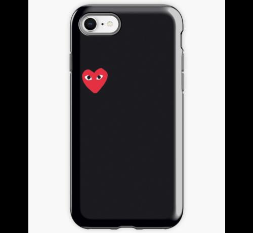 ShieldCase® ShieldCase Heart Eyes iPhone 7/8 hoesje (zwart)