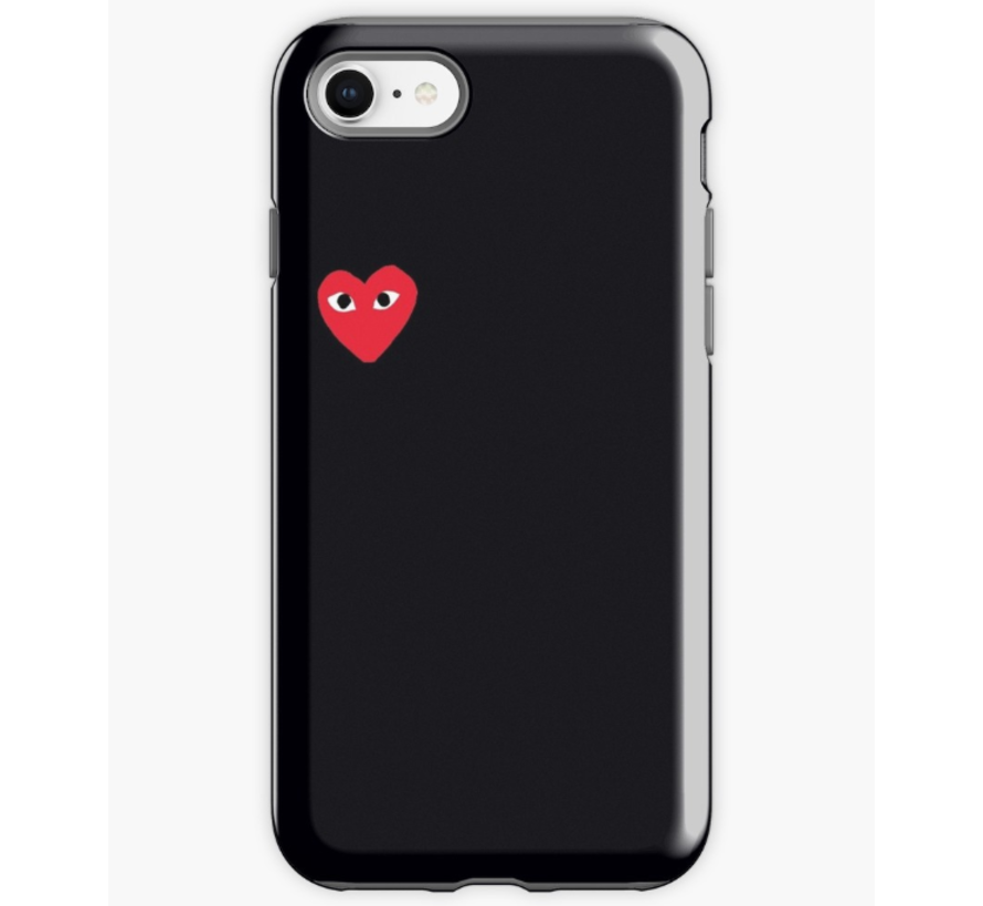 ShieldCase hoesje met hartje iPhone 7/8