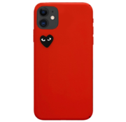 ShieldCase® Heart Eyes iPhone 11 hoesje (rood)