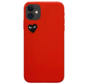 Shieldcase Heart Eyes iPhone 11 hoesje (rood)