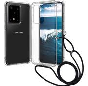 ShieldCase® Samsung Galaxy S20 Ultra shock hoesje met koord