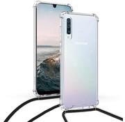 ShieldCase® Samsung Galaxy A50 shock hoesje met koord