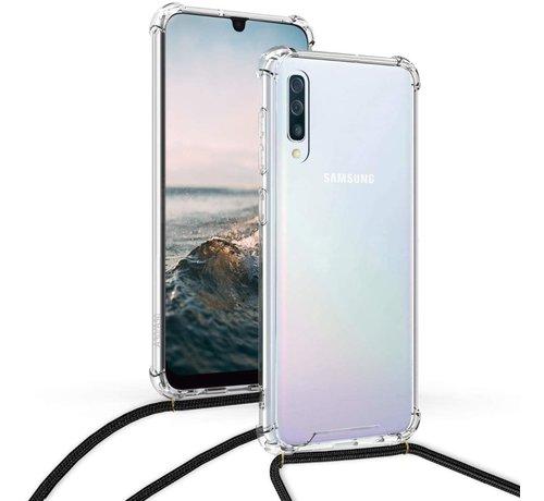 ShieldCase® ShieldCase Samsung Galaxy A50 shock hoesje met koord