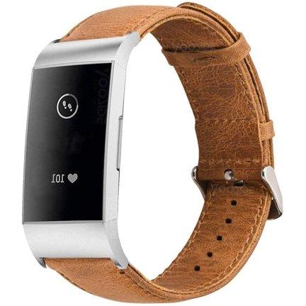 Fitbit Charge 4 bandjes leer