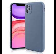 ShieldCase Siliconen hoesje met camera bescherming iPhone 11 (lavendel grijs)