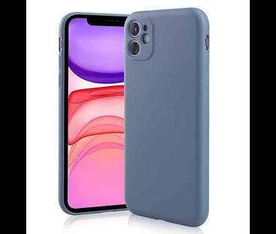 ShieldCase® Shieldcase Siliconen hoesje met camera bescherming iPhone 11 (lavendel grijs)