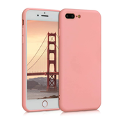 ShieldCase® Siliconen hoesje met camera bescherming iPhone 7 Plus / 8 Plus (roze)