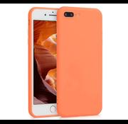 ShieldCase® Siliconen hoesje met camera bescherming iPhone 7 Plus / 8 Plus (oranje)