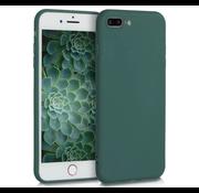 ShieldCase® Siliconen hoesje met camera bescherming iPhone 7 Plus / 8 Plus (donkergroen)