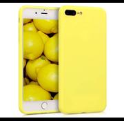 ShieldCase® Siliconen hoesje met camera bescherming iPhone 7 Plus / 8 Plus (geel)