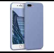 ShieldCase® Siliconen hoesje met camera bescherming iPhone 7 Plus / 8 Plus (lavendel grijs)