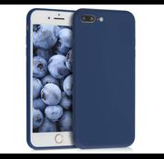 ShieldCase® Siliconen hoesje met camera bescherming iPhone 7 Plus / 8 Plus (blauw)