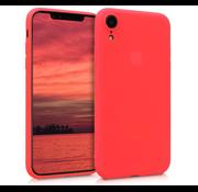 ShieldCase Siliconen hoesje met camera bescherming iPhone Xr (rood)