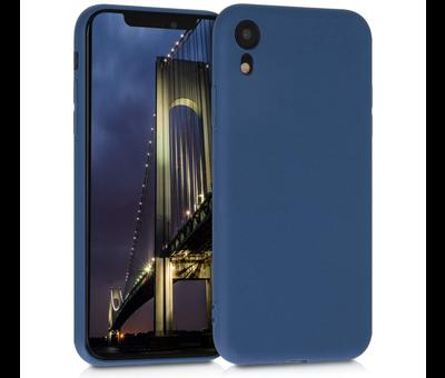 ShieldCase Shieldcase Siliconen hoesje met camera bescherming iPhone Xr (blauw)