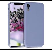 ShieldCase Siliconen hoesje met camera bescherming iPhone Xr (lavendel grijs)