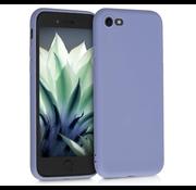 ShieldCase Siliconen hoesje met camera bescherming iPhone 7 / 8 (lavendel grijs)
