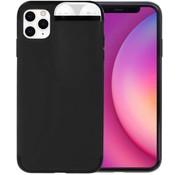 ShieldCase® iPhone 11 Pro Max hoesje met Airpods houder (zwart)