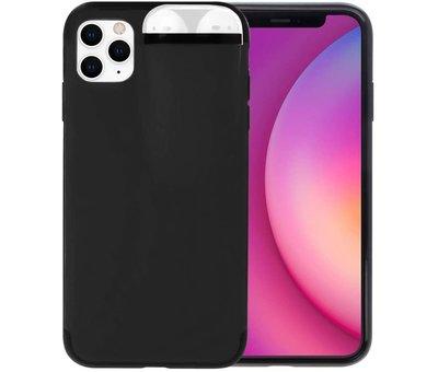 ShieldCase® Shieldcase iPhone 11 Pro Max hoesje met Airpods houder (zwart)