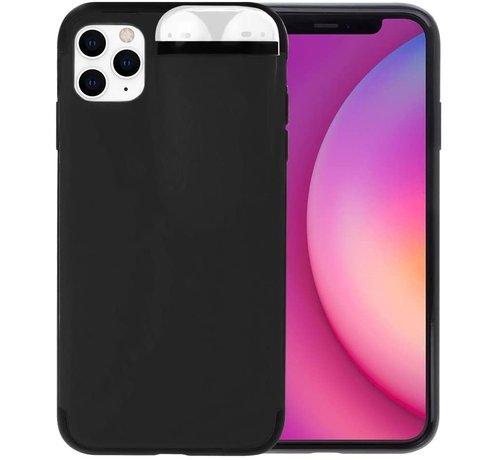 ShieldCase® Shieldcase iPhone 11 Pro hoesje met Airpods houder (zwart)