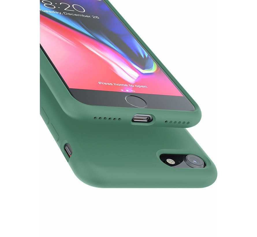 Shieldcase Silicone case iPhone SE 2020 (groen)