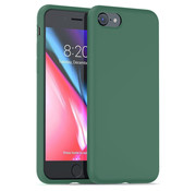 ShieldCase® Silicone case iPhone SE 2020 (groen)