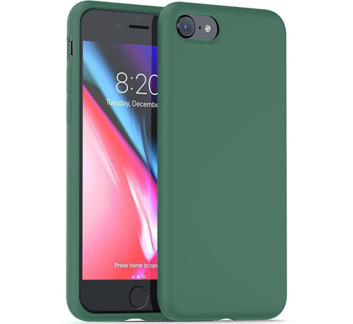 ShieldCase Shieldcase Silicone case iPhone SE 2020 (groen)