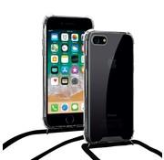 ShieldCase® Shock hoesje met zwart koord iPhone SE 2020