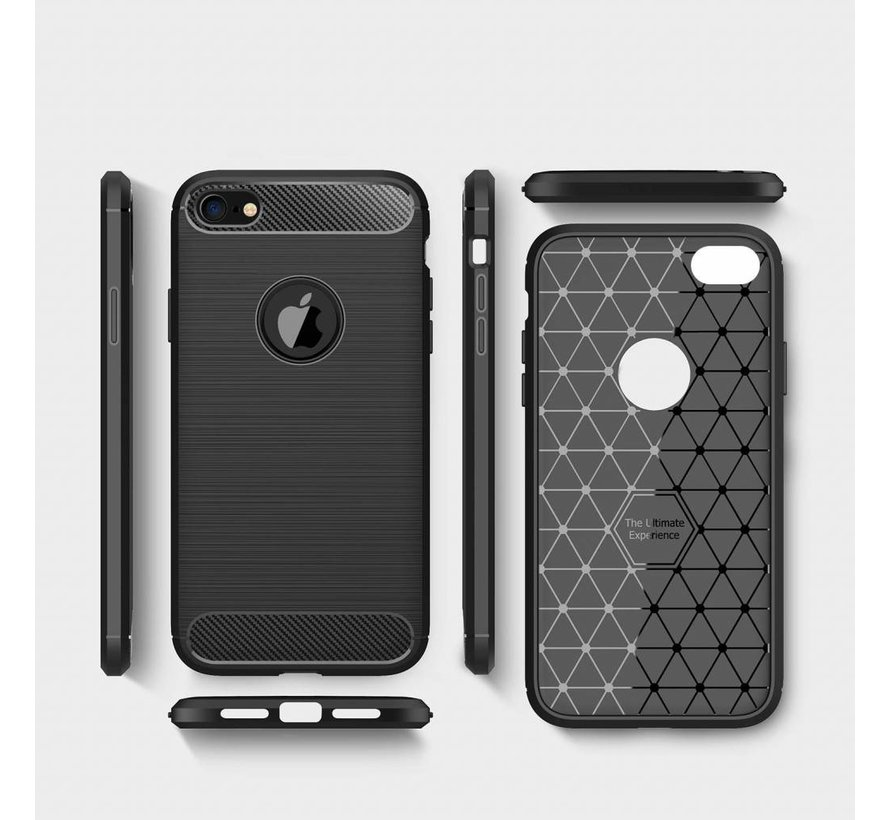 ShieldCase Brushed case iPhone SE 2020