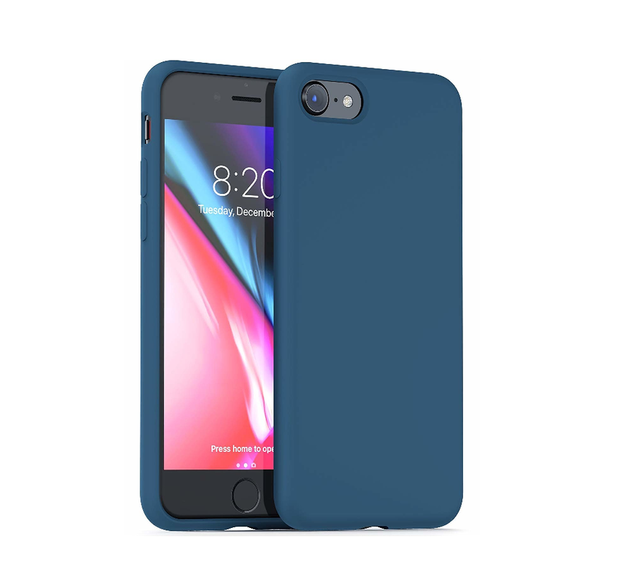Shieldcase Silicone case iPhone SE 2020 (blauw)