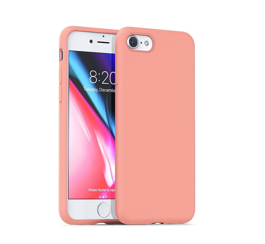 Shieldcase Silicone case iPhone SE 2020 (roze)