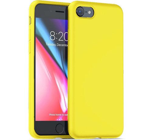 ShieldCase® Shieldcase Silicone case iPhone SE 2020 (geel)