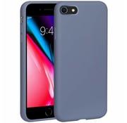 ShieldCase® Silicone case iPhone SE 2020 (lavendel grijs)
