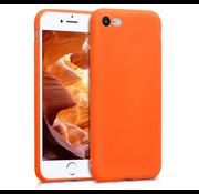 ShieldCase® Siliconen hoesje met camera bescherming iPhone SE 2020 (oranje)