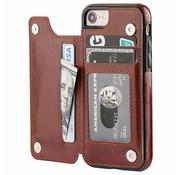 ShieldCase® iPhone SE 2020 wallet case (bruin)