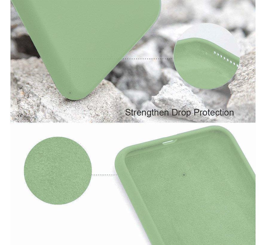 Shieldcase Silicone case iPhone SE 2020 (lichtgroen)