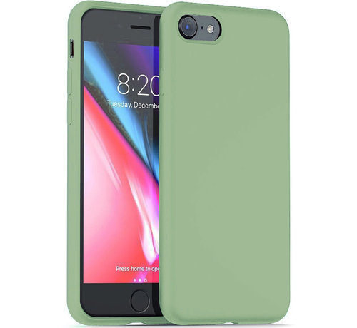 ShieldCase® Shieldcase Silicone case iPhone SE 2020 (lichtgroen)
