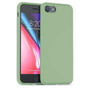 ShieldCase® Silicone case iPhone 7 / 8 (lichtgroen)