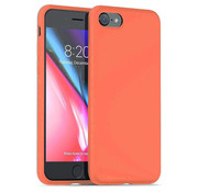 ShieldCase® Silicone case iPhone 7 / 8 (oranje)