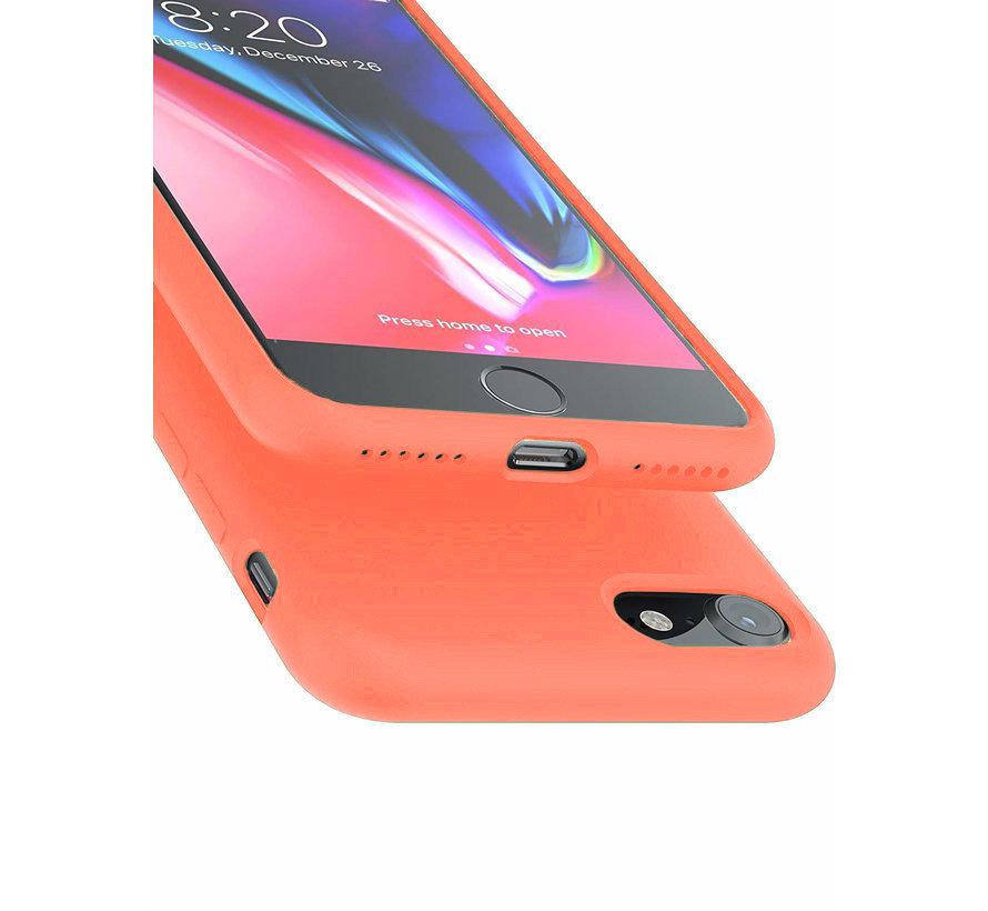 Shieldcase Silicone case iPhone SE 2020 (oranje)