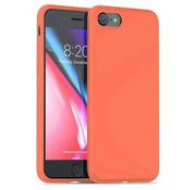 ShieldCase® Silicone case iPhone SE 2020 (oranje)