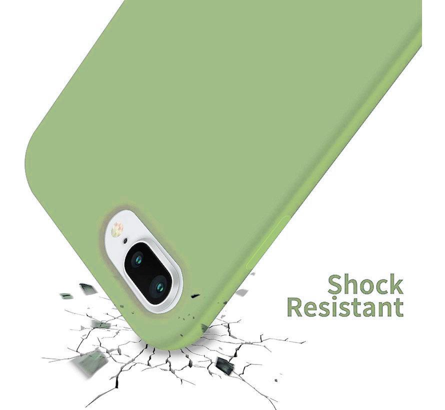 Shieldcase Silicone case iPhone 8 Plus / 7 Plus (lichtgroen)
