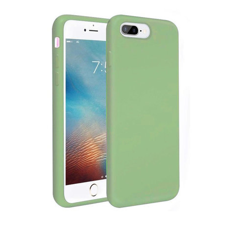 ShieldCase® Shieldcase Silicone case iPhone 8 Plus / 7 Plus (lichtgroen)