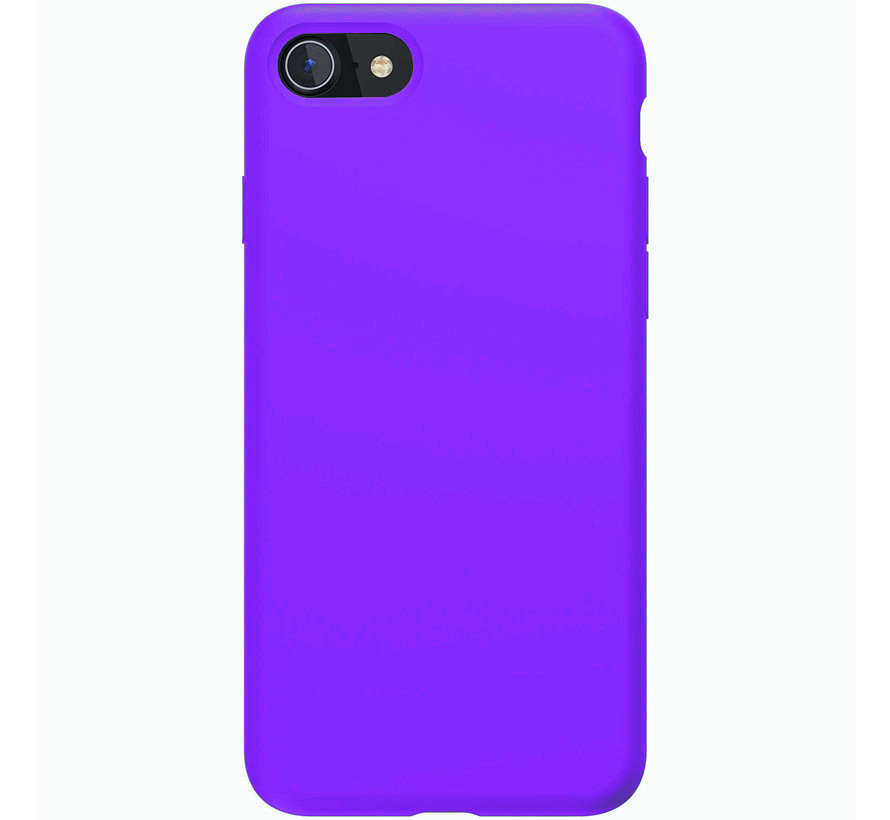 Shieldcase Silicone case iPhone SE 2020 (donkerpaars)