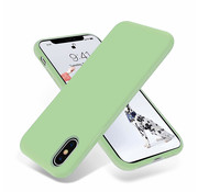 ShieldCase Silicone case iPhone X / Xs (lichtgroen)