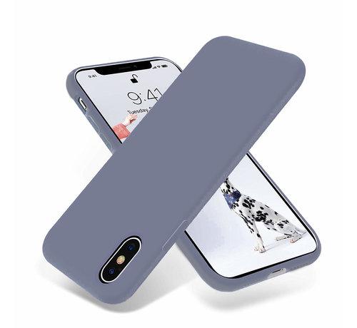 ShieldCase ShieldCase Silicone case iPhone X / Xs (lavendel grijs)
