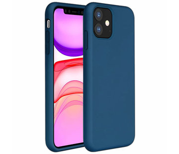 ShieldCase® Silicone case iPhone 11 (blauw)