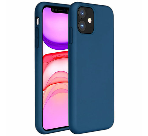 ShieldCase® ShieldCase Silicone case iPhone 11 (blauw)