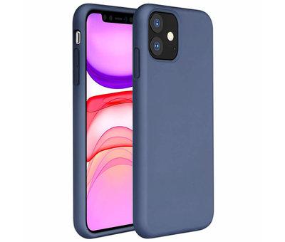 ShieldCase® ShieldCase Silicone case iPhone 11 (lavendel grijs)