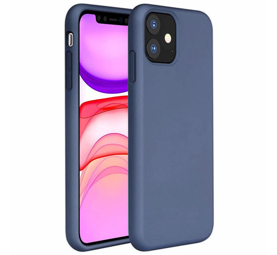 ShieldCase Silicone case iPhone 11 (lavendel grijs)