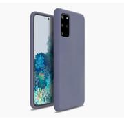ShieldCase® Silicone case Samsung Galaxy S20 Plus (lavendel grijs)